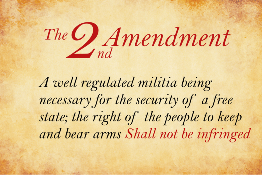 Without Our 2nd Amendment Rights…We Won't Have Any Others